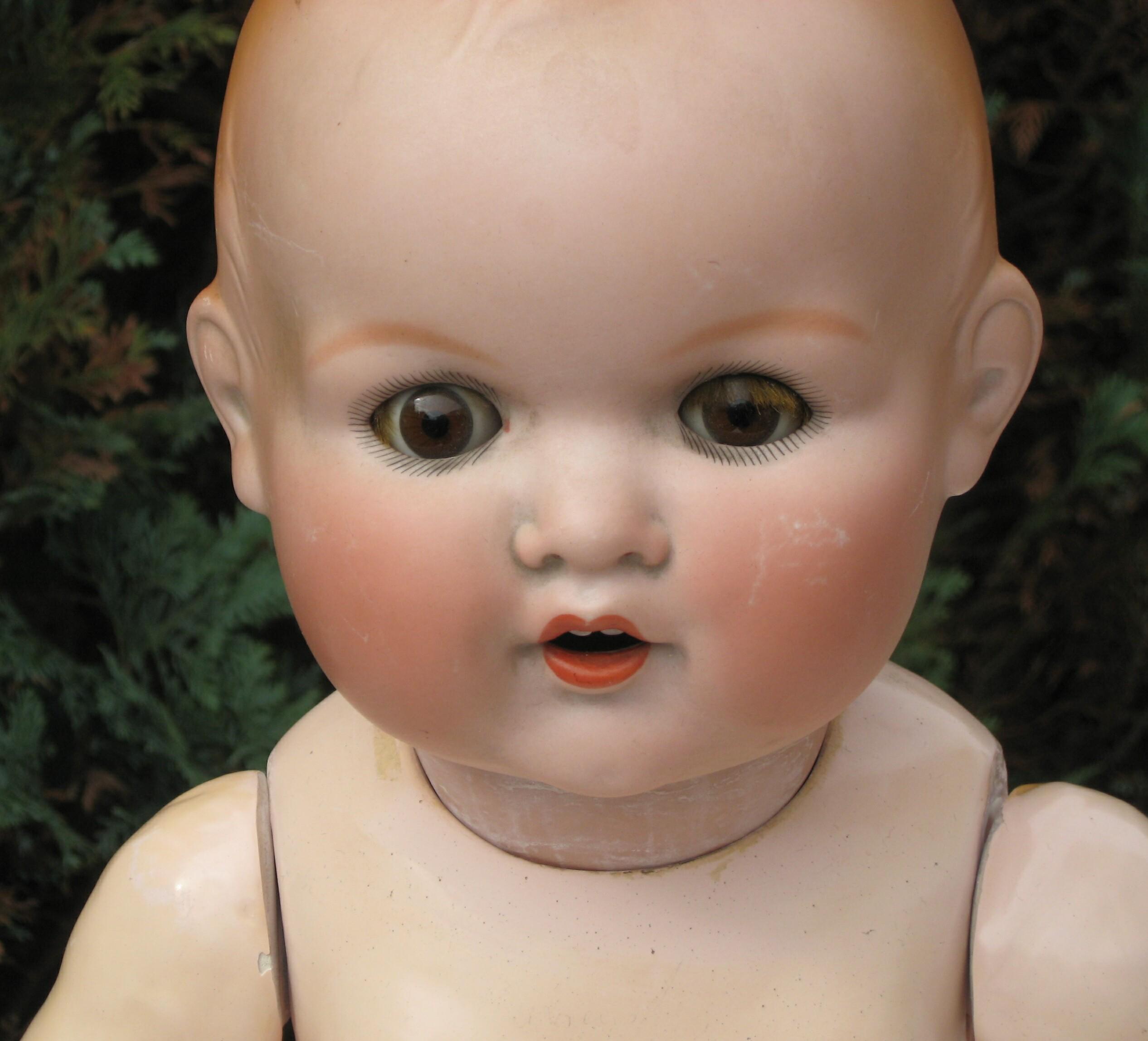 Bambole antiche bambole di porcellana di Lista BxWCrode