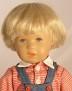 Käthe Kruse Puppe Oliver