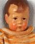 Käthe Kruse Hampelchen im orange Pulli