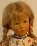 Käthe Kruse Puppe Elena von 1987 (umgezogen)