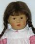 Käthe Kruse Puppe Nadja von 1986