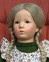 Käthe Kruse Puppe VIII, restauriert