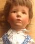 Käthe Kruse Puppe VIII braunhaarig