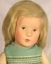 Käthe Kruse V.E.B.-Puppe im grünen Kleid