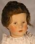 Käthe Kruse V.E.B.-Puppe im rosa Kleid