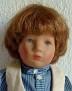 Käthe Kruse Puppe Gustl