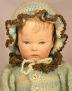 Alte Käthe Kruse Puppe I, restauriert