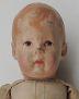 Puppe 1 mit gemalten Haaren