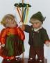 Käthe Kruse Puppenpaar Heinz und Hanne Tanz in den Mai