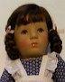 Käthe Kruse Puppe im Mimerle-Kleid
