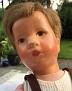 Käthe Kruse Puppe um 1950