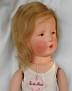 Käthe Kruse Puppe VIII mit Originaletikett
